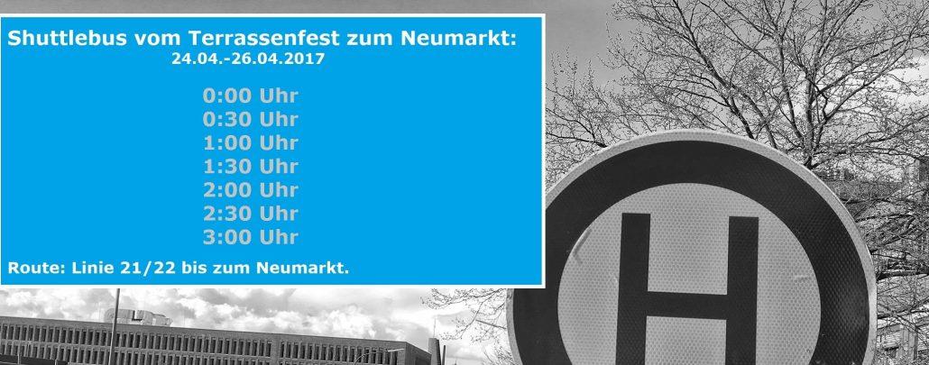 Busverbindung Am Terrassenfest Terrassenfest Hs Osnabrück